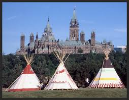 Parliament and Teepees